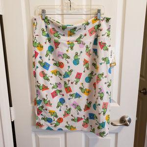 LulaRoe Cassie Disney Kermit the Frog Skirt